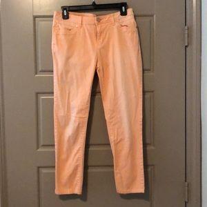 Orange crop pants